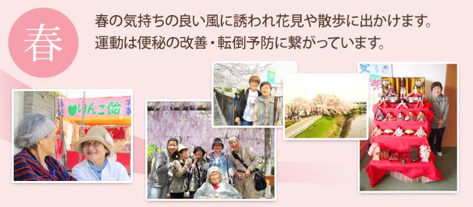 うぇるケアホームわかばの春